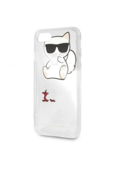 Karl Lagerfeld Fun Eaten Apple No Rope Hard Case pro iPhone 8