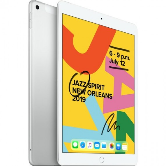 "Apple iPad 10,2"" 128GB Wi-Fi + Cellular stříbrný (2019)"