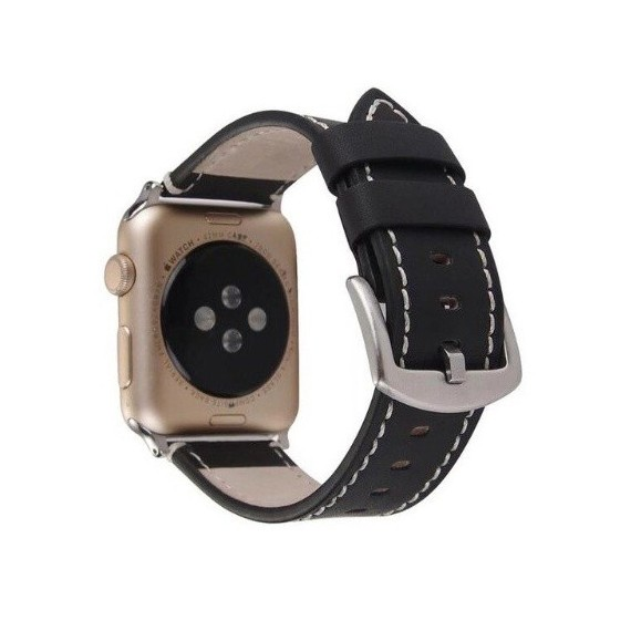 Apple Watch 38 / 40mm Black - One Loop Frosted Band