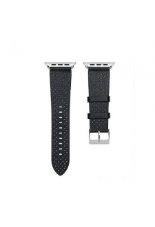 Apple Watch 38 / 40mm Black - Punch Leather Band